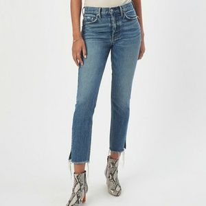 Grlfrnd denim Karolina high rise skinny NWT smiths